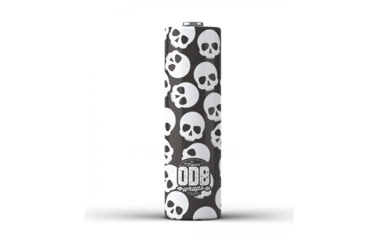 ODB Battery Wraps 18650 - SKULLZ