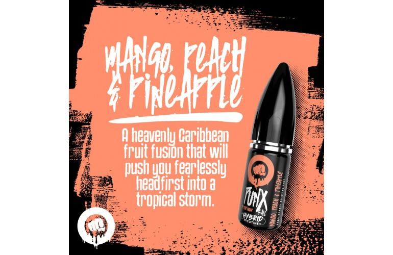 Mango Peach & Pineapple PUNX Salt 10mg by Riot Squad