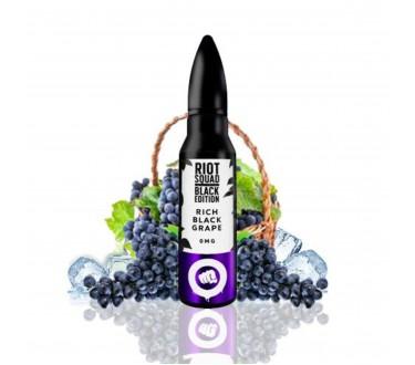 Rich Black Grape Black Edition by Riot Squad 50ml Shortfill