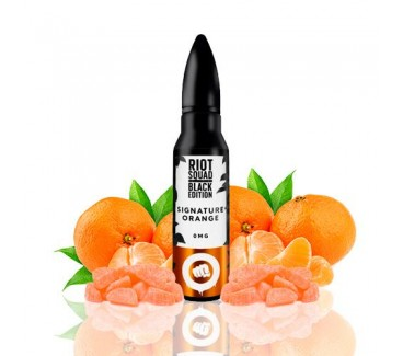 Signature Orange Black Edition by Riot Squad 50ml Shortfill