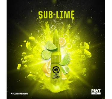 Sub Lime by Riot Squad 50ml Shortfill