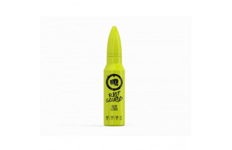 Sub Lime by Riot Squad 50ml Shortfill