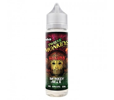 Hakuna by Twelve Monkeys 50ml Shortfill