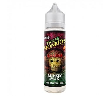 Hakuna by Twelve Monkeys 50ml Shortfill