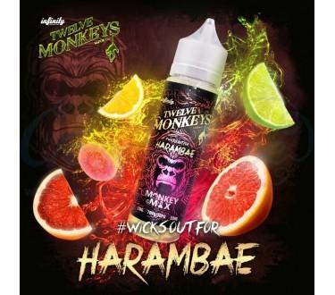 Harambae by Twelve Monkeys 50ml Shortfill