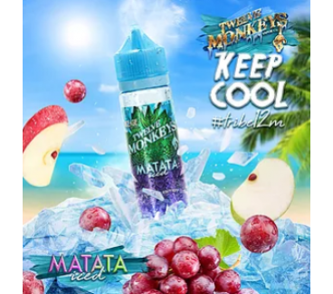 Matata ICED by Twelve Monkeys 50ml Shortfill