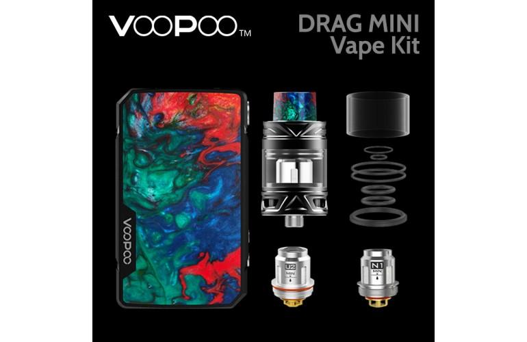 VooPoo Drag Mini Vape Kit - Atrovirens