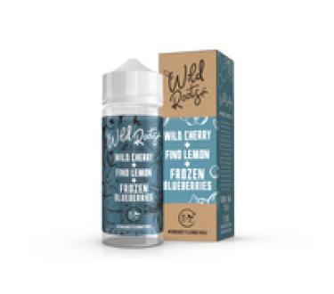Wild Cherry & Fino Lemon & Frozen Blueberries by Wild Roots 100ml Shortfill