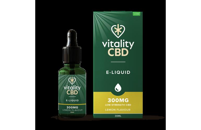 Vitality CBD E-Liquid 30ml Lemon Flavour