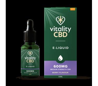 Vitality CBD E-Liquid 30ml Berry Flavour